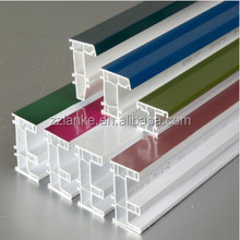 Lanke White and ASA Color Coated High Anti-UV German Quality uPVC Profile for Windows and Doors System
