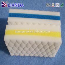 Heavy duty scrub personalizado esponjas de espuma de melamina, eco- ambiente de esponja de poliuretano