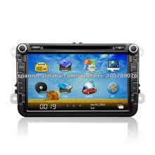 8 pulgadas vw universal en el tablero de radio del coche DVD con el GPS para VolksWagen Jetta / Sagitar de VW / Caddy / Touran