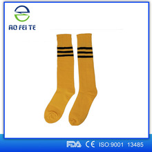 2015 Striped Classic Design Sport Over Knee Pure Cotton Soccer Socks