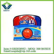 plastic kids basketball set hoop + ball