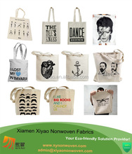 printed large canva tote bags