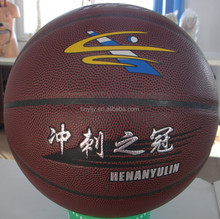High quality New Style Cow Leather basketball #7