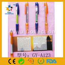 Promotional scroll info banner ballpen retractable pen