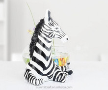European-style garden zebra resin mini desk aquarium