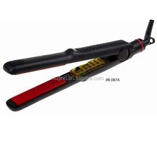 2014 Beauty salon permanent tourmaline 100 ceramic coating brand names hair straightener JRI-087A