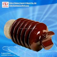 High voltage porcelain post power line insulators/33kv ceramic isolator
