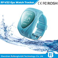 mini gps tracker watch phone for IOS and Android system wrist watch gps tracking device
