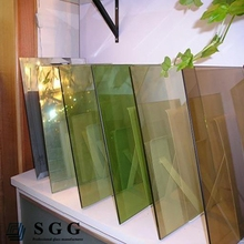 Excelent quality 5mm bronze reflective glass