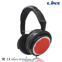 High quality big headset mp3 player for music