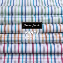 50s Yarn Dyed Cotton Shirting Fabric, Colorful Stripe/Check/Plaid Fabric, Plain Weaving Fabric