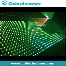 Video dot 30mm ip67 dmx node for indoor outdoor lighting decoration
