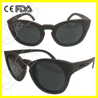 2015 custom bamboo men glasses mp4 and hinge wood with logo free