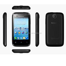 Original 3.5'' Lenovo A208T GSM Android Smartphone WIFI 2MP Camera Lenovo phone in stock Cheap mobile phone china alibaba