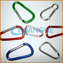 made in china red heart carabiner