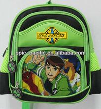 Colorful design school backpack for kids