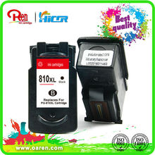 ink visible!remanufactured inkjet cartridge for Canon PG810 CL811XL compatible ink cartridge