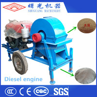 Cheap price fast delivery sawdust log making machine