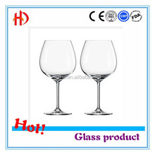 Crystal Glass Wine Goblet Mechanism or Blowing