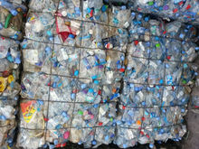 PET BOTTLE SCRAP BALED TRANSPARENT