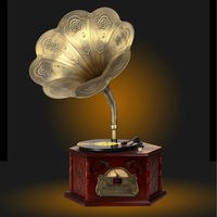 European type Gramophone Old Style Music Box MYS105A