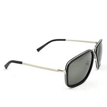 OEM Fashion Double Bridge Metal Temple Polarized Sunglasses