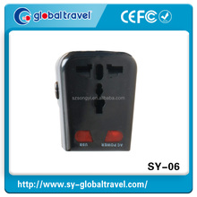 2015 Smartphone Iphone Samsung USB travel charger adapter plug CE ROHS