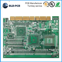 94v0 circuit board Assembly PCB for Microwave with all components SMT/radio pcb circuit board design