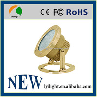 Stainless steel body led pool light and fountain light