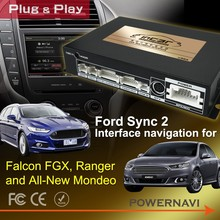 Falcon FGX, Ranger and All-New Mondeo Ford Sync 2 Interface navigation
