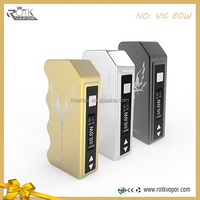 Electronic Cigarette VIC80W box Mod 2200mAh VW battery Variable Voltage VIC80W box Mod E Cigarette for Hkuda tank sub ohm tank