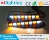 Visor Light Warning Split Mount Deck Dash 12V 48 LED Emergency Strobe Lights