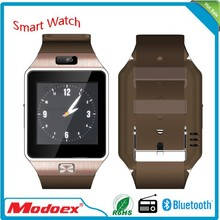 2015 lateset bluetooth smart watch mobile phone factory smartwatch