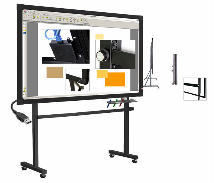 china interactive whiteboard portable smart board with. Black Bedroom Furniture Sets. Home Design Ideas