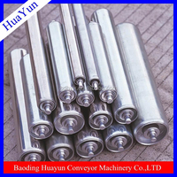 Roller Chain Type and Iron Material conveyor roller system