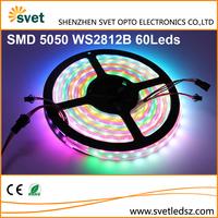 Digital Addressable RGB Led 5050 WS2812B Protocol Smart Led Strip Pixel DC5V 60Leds