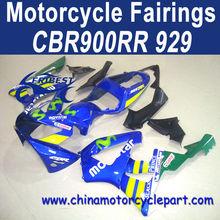 CBR900RR 929 2000 2001 Carenados de fábrica para las motocicletas