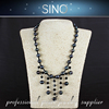 low price wholesale freshwater pearl necklace silver chain necklace real pearl necklace price design