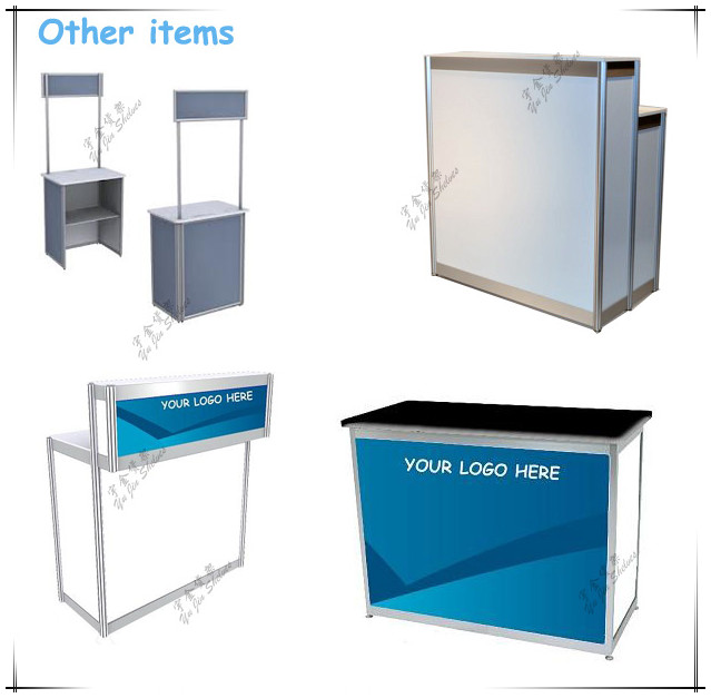 Exhibition Stall Accessories : Modular standard link booth way upright extrusion