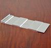 Flat Silver Andodized Aluminum Profiles