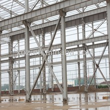 2015 New type light steel structure warehouse /workshop easy fast installation
