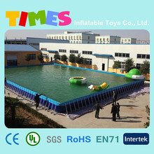 Best quality frame metal swimming pool for sale