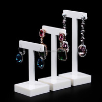2016 NEW Design Custom Acylic Jewelry Display Counter Set, Earring Holder