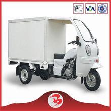 China New Pruduct 3 Three Wheel Motorcycle 150cc/200cc Ice Cream Tricycle