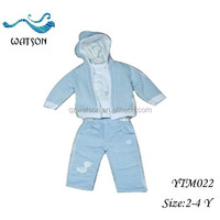 Hooded Kids Garments Boy 3 Pcs Clothing Set Collection