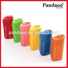 uso al aire libre 2aa de emergencia cargador de batería para el teléfono móvil