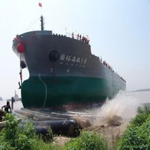 CCS D=1.8 L=18m marine airbag for ship launching and landing
