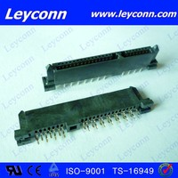 7+15 Pins Female H1.0 Polariaing Straddle Type SATA Connector