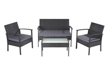 CHEAPEST KD RATTAN SOFA FURNITURE/KD OUTDOOR FURNITURE SET/KD GARDEN FURNITURE