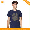 Top Grade Large Basic Cotton Polyester Single Jersey T Shirt For Men
